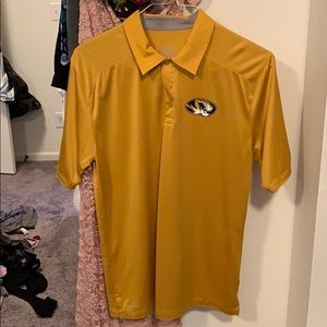 Men's Mizzou Gold Gameday Nike Polo
